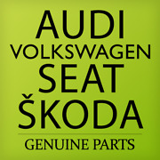 Genuine Vw 1 Set Of Lock Cylinders Outer/inner Rail Profile 3g8800375kaif