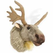 Muscovy The Moose - 24 Inch Stuffed Plush Wall Mount Bust - Previously Returned