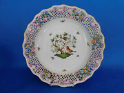 Herend Rothschild Traced Wall Plate Porcelain
