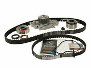 Timing Belt Kit And Water Pump For 04-05 Vw Jetta 1.9l 4 Cyl Yq91x2