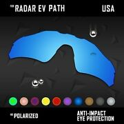 Anti Scratch Polarized Replacement Lenses For- Radar Ev Path Oo9208 Option