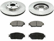 Front Brake Pad And Rotor Kit For 04-06 Lexus Es330 Nf62s6
