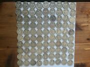 Washington Quarters 50 Face Value 90 Silver 5 Rolls Of 40 Bulk Lot 200 Coins