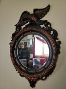 Vintage Dart Industries Coppercraft Guild Poly Eagle Wall Mirror 1959, Usa