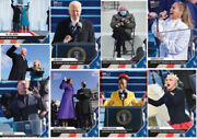 Topps 2021 Presidential Inauguration 9 Card Set Unopened