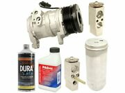 Front And Rear A/c Compressor Kit For 07-08 Chrysler Dodge Aspen Durango Yd66f4