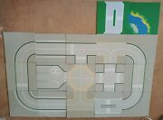 Lot Of 17 Lego Street Road Airport Space Moon Base Plates Grey 10 X 10