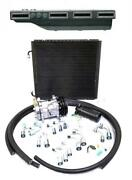 Gearhead Slimline Ac Heat Defrost A/c Air Conditioning Kit + Compressor Fittings
