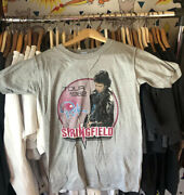 Vintage Rick Springfield 1982 Tour T-shirt 2-sided Success Hasn't Spoiled Me M