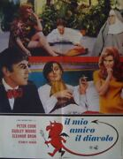 Bedazzled Italian 1f Movie Poster B Raquel Welch Dudley Moore 1968