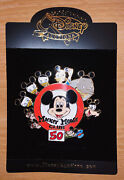 Disney Auctions Mickey Mouse Club 50 Pin Le 100 Goofy Donald Chip Dale Rare Mint