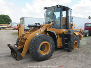2014 Case 621f Front End Wheel Loader Hydraulic Qc Scale Cab A/c - Parts/repair