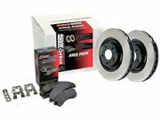Front Brake Pad And Rotor Kit For 10-16 Porsche Panamera Turbo Gts S Pd14b8