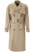 New Dolce And Gabbana Cotton Trench Coat G016ot Fu6wi Corda 1 Authentic Nwt
