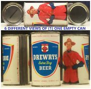 Drewrys Extra Dry Flat Top 12 Oz Can With Coin Bank Top South Bend Indiana 79e