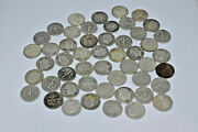 Roosevelt Dimes 1 Roll 50 Coins 90 Silver Mixed Dates Free Shipping