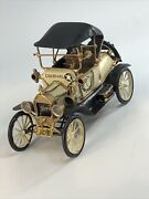 Vtg Hand Made Cast Iron 1913 Ford Model T By Kandb Constable Creston Diecast Car
