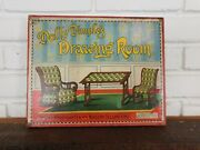 Antique Dolly Dimples Drawing Room Paper Cut Out Craft Toy Spear's Games