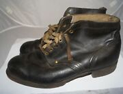 Soviet Russian Afghanistan Combat Boots Soldier Military Leather Ussr 44