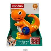 Kiddolab-tikki The Dino Voice Changer Recording And Playback Toy