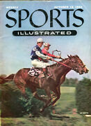 Sports Illustrated Magazine, N8 October 18 1954 Contains The Subscription Cards