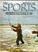 Sports Illustrated Magazine, N13 November 8 1954 Contains The Subscription Cards