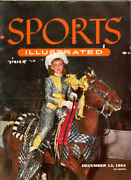 Sports Illustrated Magazine, N18 December 13 1954 Contain The Subscription Cards