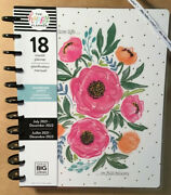 New 2021-2022 Me And My Big Ideas The Happy Planner Andldquocolorful Floralsandrdquo Big Planner