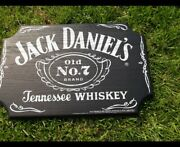 Jack Daniels Bar Sign Man Cave Garage Old No. 7 Tennessee Whiskey New
