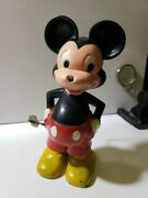 Marx Mickey Mouse Walt Disney Wind-up Toy Spinning Tail