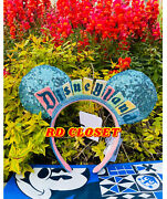 New 2020 Disneyland Marquee Sign Ears Headband. Brand New