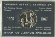 Expo And03967 Canadian Olympic Association 1967 Coin Token Not Silver