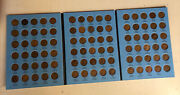 P D S Lincoln Wheat Penny Cent American Coins Complete Set Whitman 1909-1940 Vdb