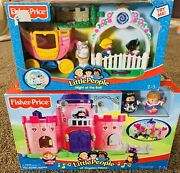 Fisher Price Little People Lilandrsquo Kingdom Castle 🏰 And Night At The Ball 🤴👸🏽