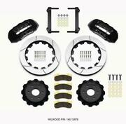 Wilwood 140-13876 Tx6r Front Kit 16.00in Black 1999-2014 Gm Truck/suv 1500