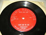 Jiggers Story Hour Jsh-62 Rare 7 David And The Lion / Happy Time Xian Ism Weird