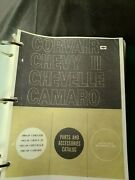 1960-1969 Corvair, Chevy2, Chevelle, And Camaro Parts And Accessories Catalog