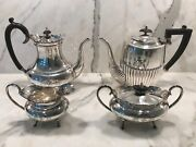 Cheltenham And Company Tea And Coffee Service Stamped Made In Sheffield England