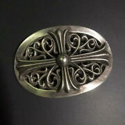 Chrome Hearts Authentic Classic Oval Buckle Large