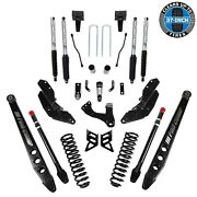 Pro Comp K4214bp 8 4-link Stage Iii Lift Kit - 17-21 Ford Super Duty