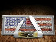 Case Xx Baby Butterbean Knife Genuine Deer Stag Stainless Pocket Knives 05537