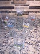 Sam Adams Beer Glasses 16 Oz And Pint Lot Of 6 Different Glasses Octoberfest