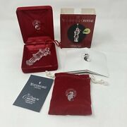 Waterford Crystal 2005 11 Eleven Pipers Piping Christmas Tree Ornament 12 Days