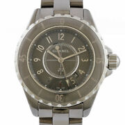Watches H2978 Gray Silver Ceramic Titanium J12 Chromatic From Japan