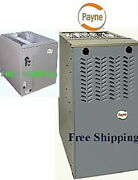 3.5 Ton Payne By Carrier 14seer 80 70 K Btu Gas Furnace And Evaporator Coil