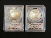 2014-p Baseball Commem Dollar Coins Proof And Unc Pcgs First Pitch Baltimore