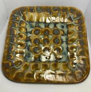 Richie Watts Pottery For The Good Earth Swallowtail Salad Plate 2003