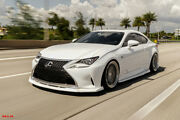 Lexus Rc 350 200t Lip Body Kit Splitter Front Side Skirt Rear Diffuser Spoiler