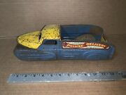 Vintage Antique Marx Toys Pressed Steel Wind-up Deluxe Delivery Truck