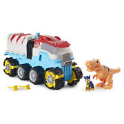 Paw Patrol Dino Patroller Motorized Team Rescue Vehicle With Chase And T-rex